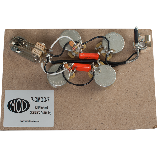 Prewired Assembly - MOD®, Vintage Series, SG Standard image 1