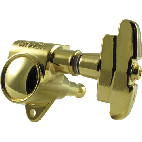 Tuning machine - Grover Super Rotomatic, 3 per side, gold image 1