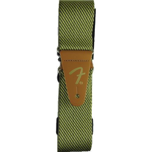 """Guitar Strap - Fender, 2"""", Vintage, Tweed image 1"""