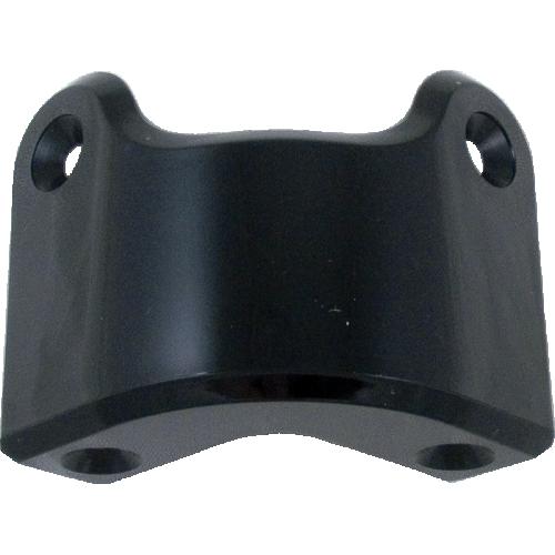Corner - Marshall, Black Plastic, 4-Hole, Rear, Package of 4 image 1