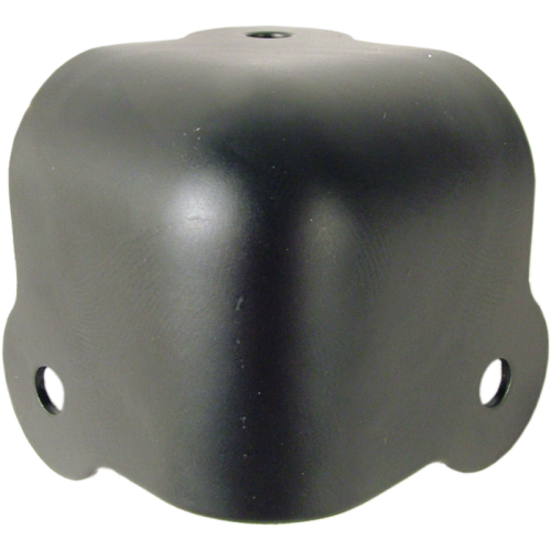 Corner - Black Steel, 3-Hole, 18 Gauge image 1