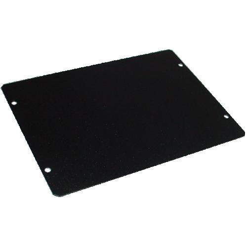 "Cover Plate - Hammond, Steel, 7"" x 5"", Black image 1"