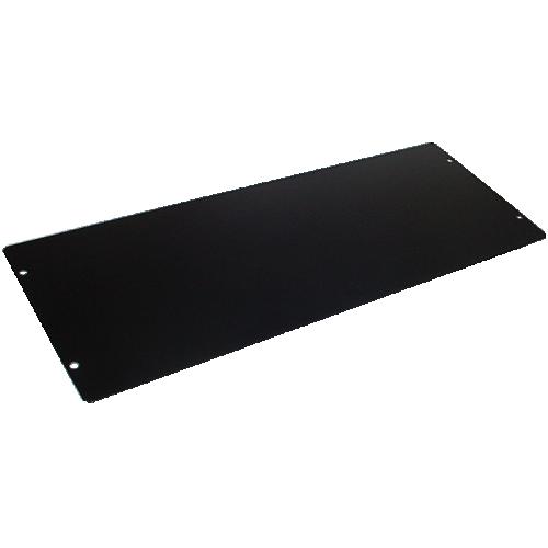 "Cover Plate - Hammond, Steel, 13.5"" x 5"", Black image 1"