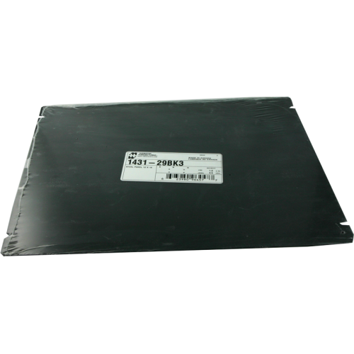 "Cover Plate - Hammond, Steel, 12"" x 10"", Black image 1"
