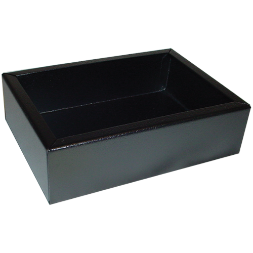 "Chassis Box - Hammond, Steel, 7"" x 5"" x 2"", Black image 1"