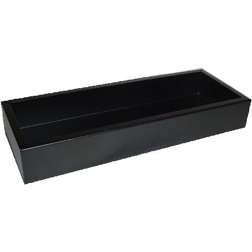 "Chassis Box - Hammond, Steel, 13.5"" x 5"" x 2"", Black image 1"