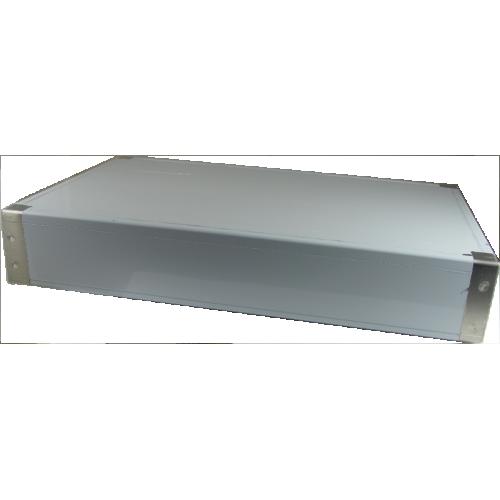 "Chassis Box - Hammond, Aluminum, 12"" x 8"" x 2"" image 1"