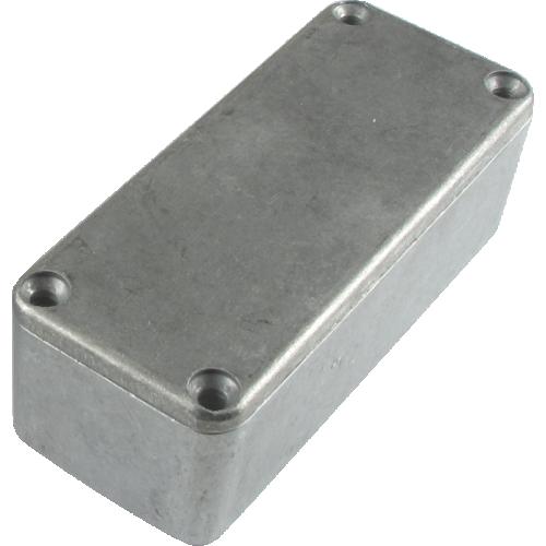 "Chassis Box - Hammond, Unpainted Aluminum, 3.64"" x 1.52"" x 1.06"" image 1"