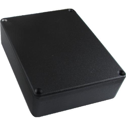 "Chassis Box - Hammond, Aluminum, 4.67"" x 3.68"" x 1.1"", Black image 1"