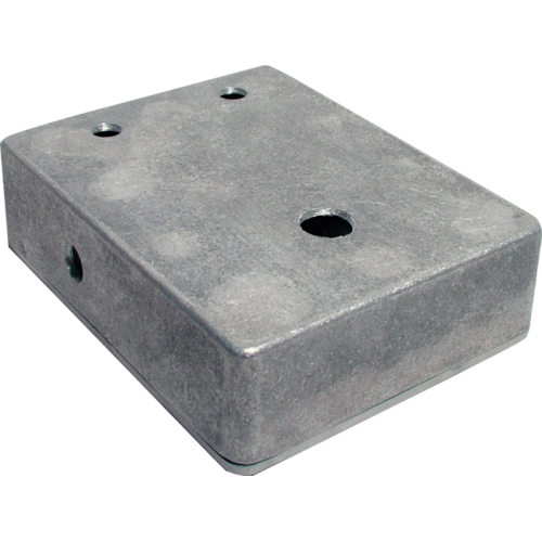 "Chassis Box - Aluminum, 4.67"" x 3.68"" x 1.18"", pre-drilled image 1"