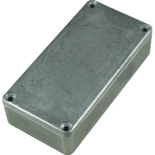 "Chassis Box - Hammond, Unpainted Aluminum, 3.94"" x 1.97"" x 0.83"" image 1"