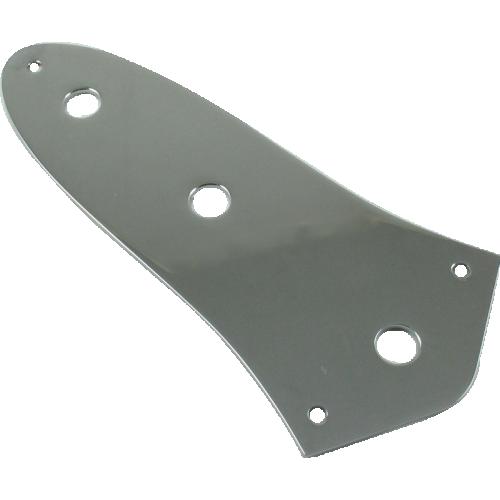 Control plate, Fender® Vintage J-Bass, chrome image 1