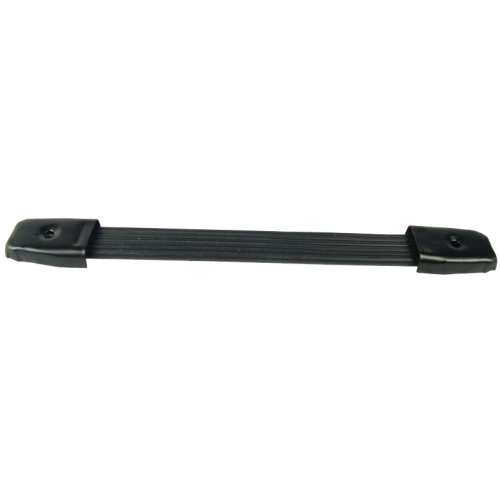 "Handle - Black Plastic, Black Caps, Strap, adjustable 8"" - 8.75"" image 1"