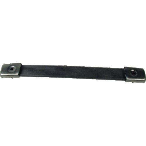 "Handle - Black Plastic, black caps, Strap, adjusts 6.65"" - 7.50"" image 1"