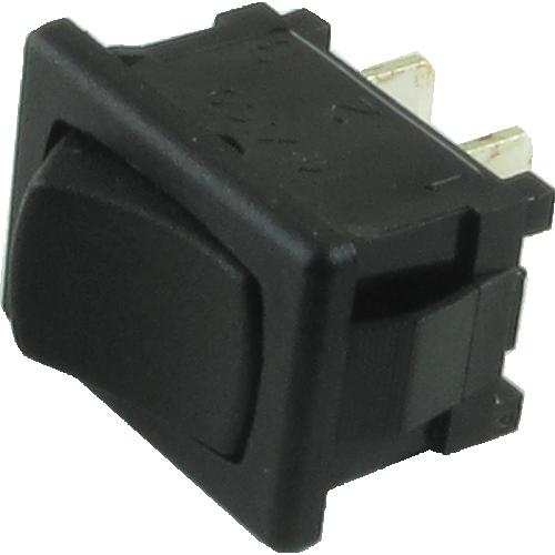 Switch - Carling, SPST, Mini Rocker, 5A, 125VAC image 1