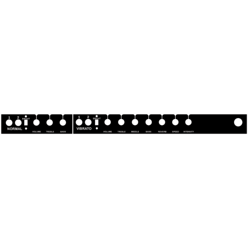Panel - for Super Reverb image 1