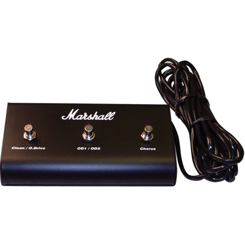 Footswitch (PED803), Original Marshall, Three Button with LED (Clean / O.Drive, OD1 / OD2, Chorus) image 1