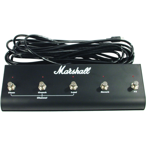Footswitch - Marshall, 5 Button with LED image 1