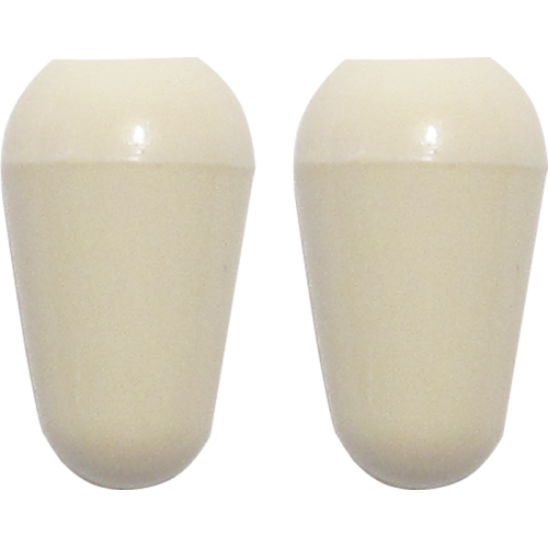 Knob, Stratocaster switch tip, aged white (2 pieces) image 1