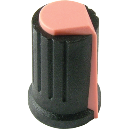 Knob - Peavey, Coral, Push-On image 1