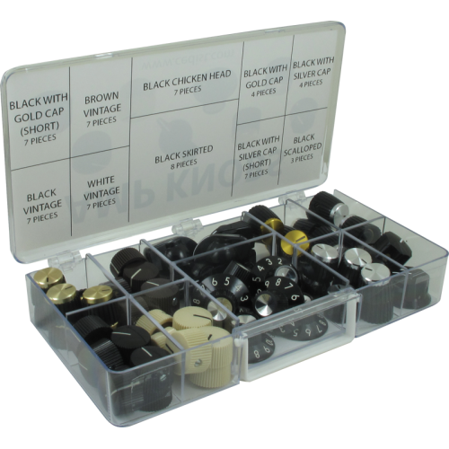 Knob Kit - Various Amp Knobs, 61 Pieces image 1