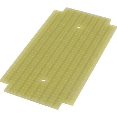 ProtoBoard- Fits 1590B, 1 sided, 2-hole strips image 1