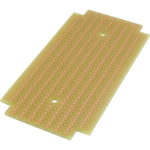 ProtoBoard- Fits 1590B, 1 sided, 2-hole strips image 2