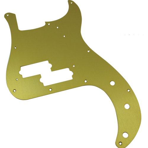 Pickguard - Fender®, '57 P-Bass, Gold-Anodized image 1