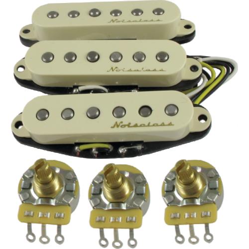 Pickup - Fender, Vintage Noiseless for Strat, set of 3 image 1