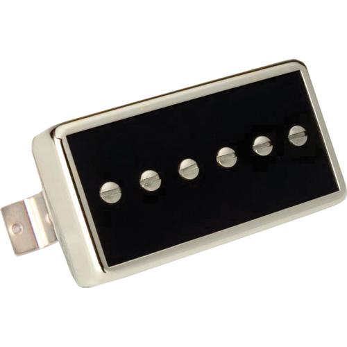 Pickup - Gibson, Single Coil P-90, Neck, Black w/ Chrome image 1
