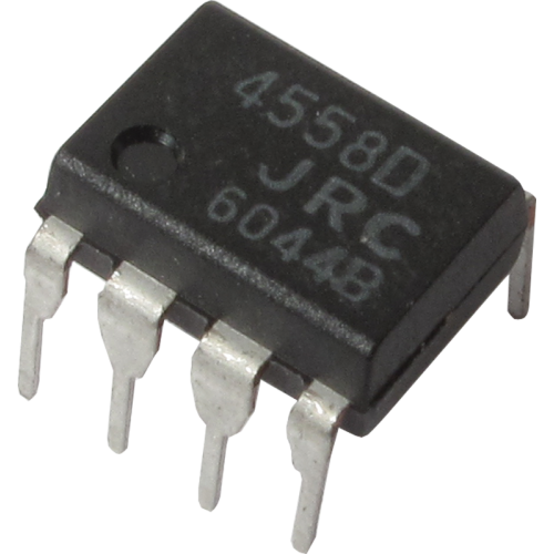 Integrated Circuit - 4558, Dual Op-Amp image 1