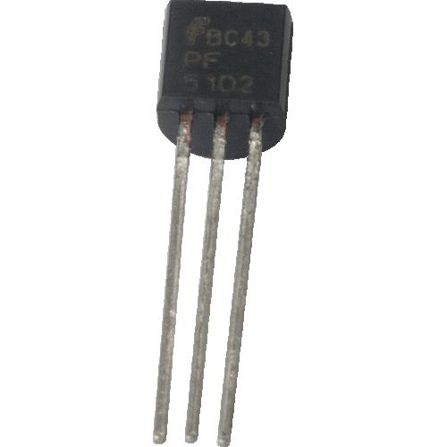 Transistor - JFET N-Ch Transistor Lo Freq/Lo Noise, PF5102 image 1