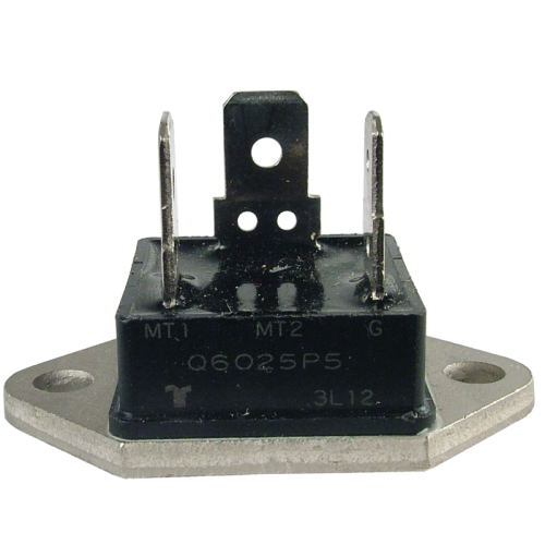 Triac - Q4025P - Alternistor, 400V, 25A, Fastpack TO-3 Base image 1
