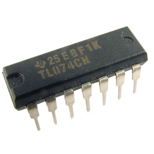 Integrated Circuit - TL074, Quad Op-Amp image 1