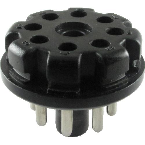 Plug - 8-Pin, Black Plastic image 1