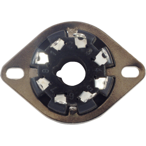 Socket - 8 Pin, Plastic, MIP image 3