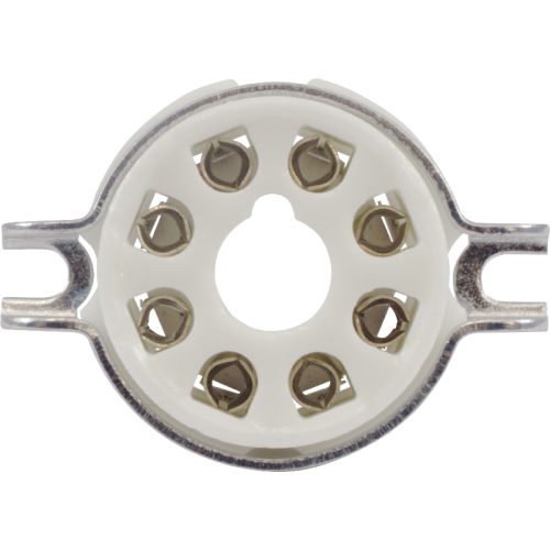 Socket - 8 Pin Octal, Ceramic image 2