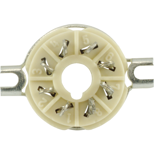 Socket - 8 Pin Ceramic, High Quality image 3