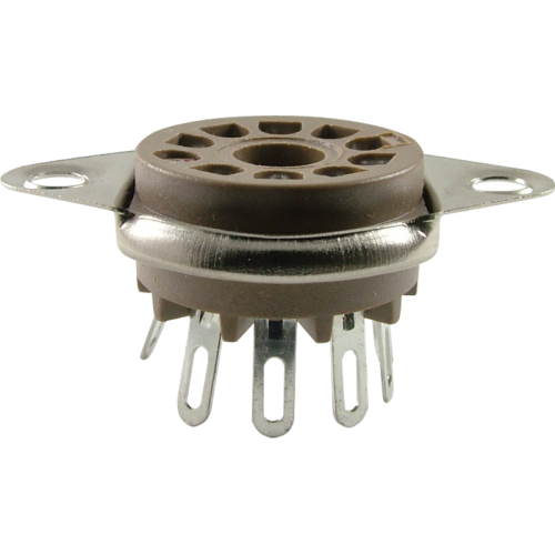 Socket - Belton, 9 Pin, Miniature, Bottom Mount image 1
