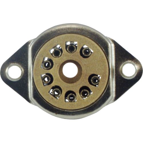 Socket - 9 Pin, Chassis Mount image 2