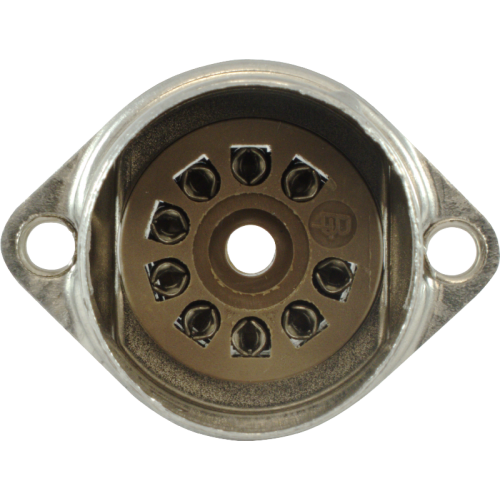 Socket - 9 pin, crimped with shield base, Micalex image 3