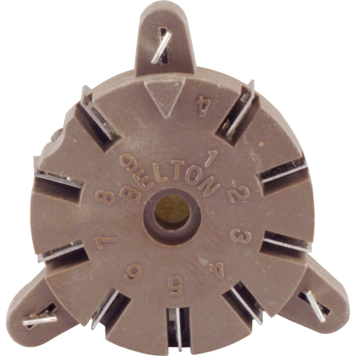 Socket - Belton, 9 Pin, for Auto-Wave Soldering image 2