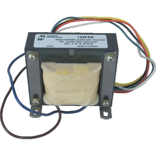 Transformer - Hammond, Universal Single Ended, 20 W, 90 mA image 1