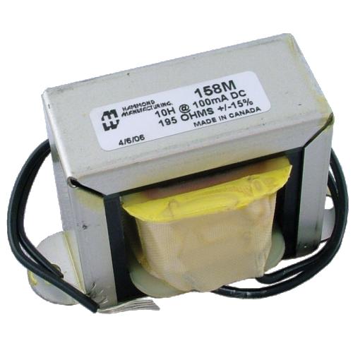 Filter Choke - Hammond, Open Bracket, 10 H, 100 mA image 1