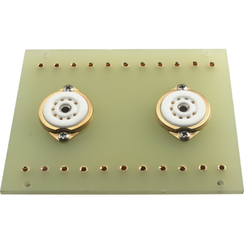 Terminal Board - 2 x 9 Pin Socket, for Dynaco Mark III image 1