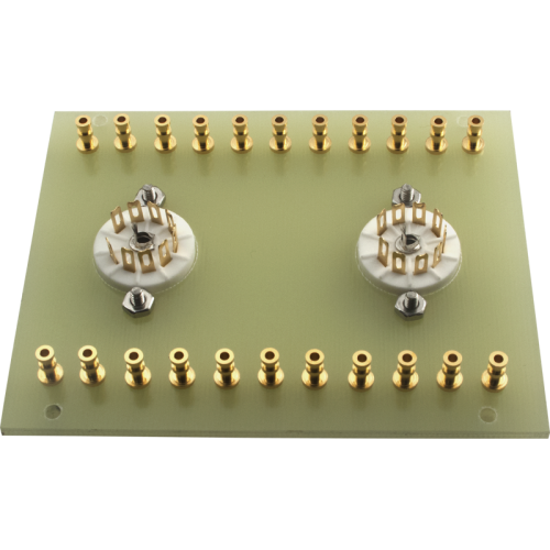 Terminal Board - 2 x 9 Pin Socket, for Dynaco Mark III image 2