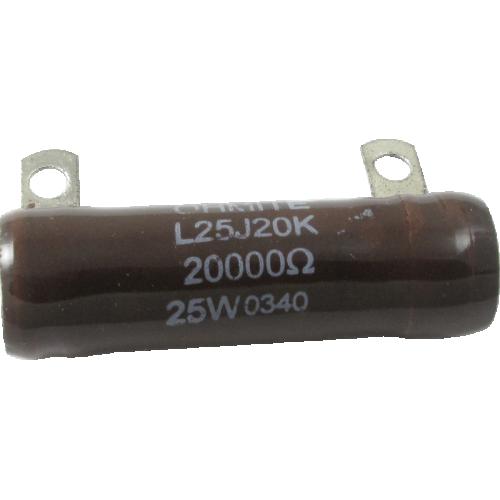 Resistor - Ohmite, 25W, 20KΩ image 1