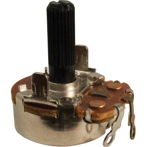 Potentiometer - Neohm, 200K, Linear, Twist Tab Mount image 1