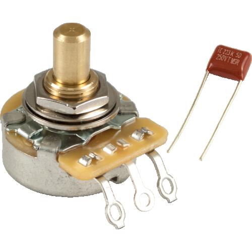 Potentiometer - Fender, 250K, Solid Shaft, No Load image 1