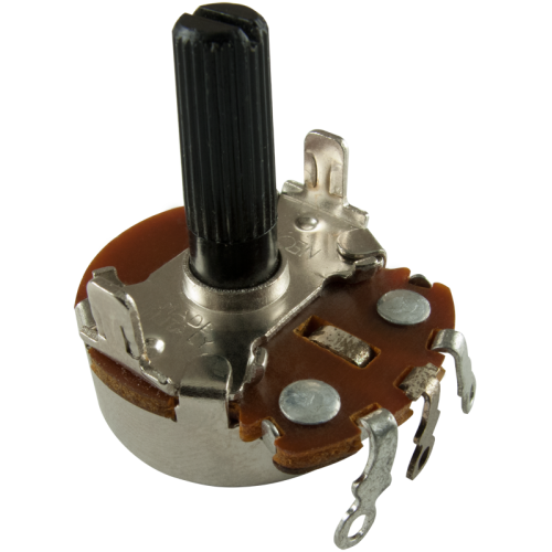 Potentiometer - Neohm, 500K, Linear, Twist Tab Mount image 1